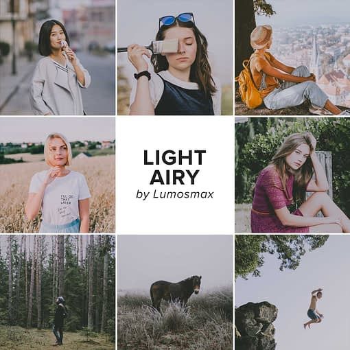 Bright, Light and Airy Lightroom Presets
