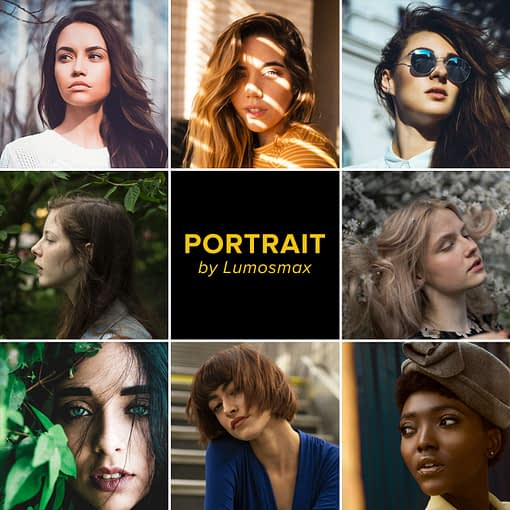 Portrait Lightroom Presets by Lumosmax