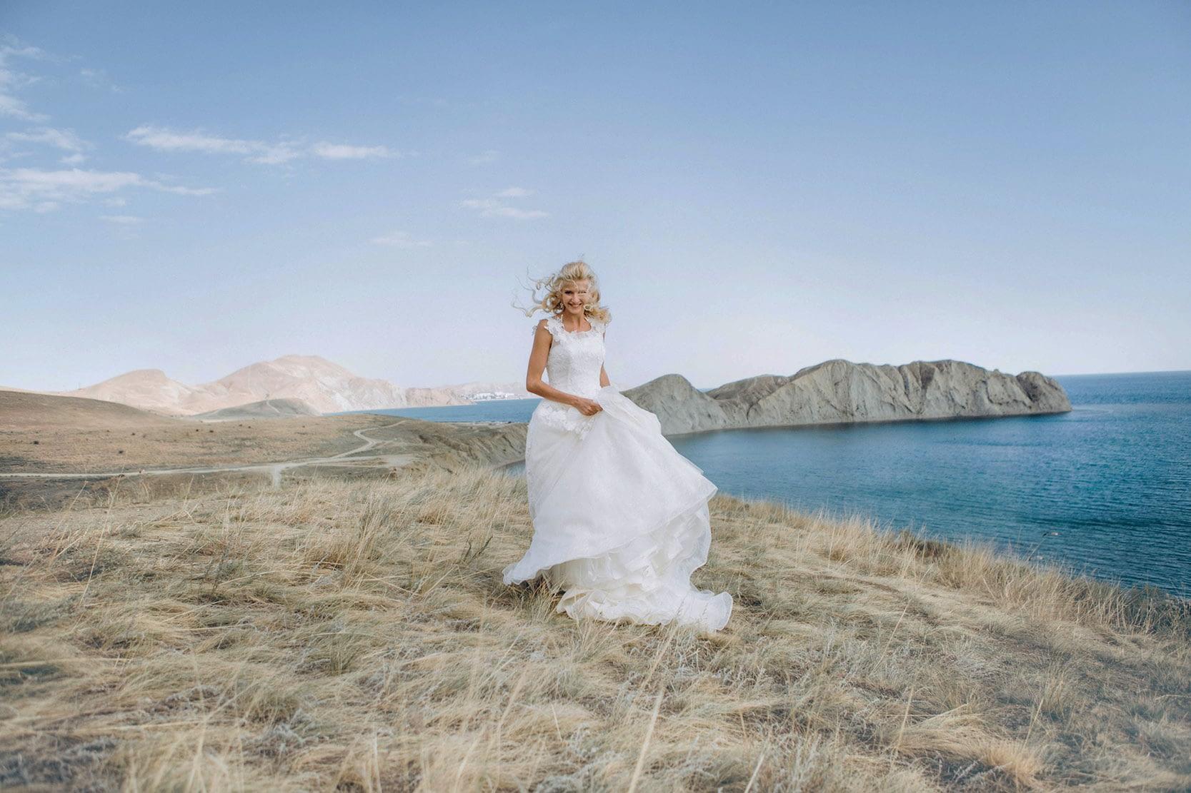 Wedding photo before using Overlay