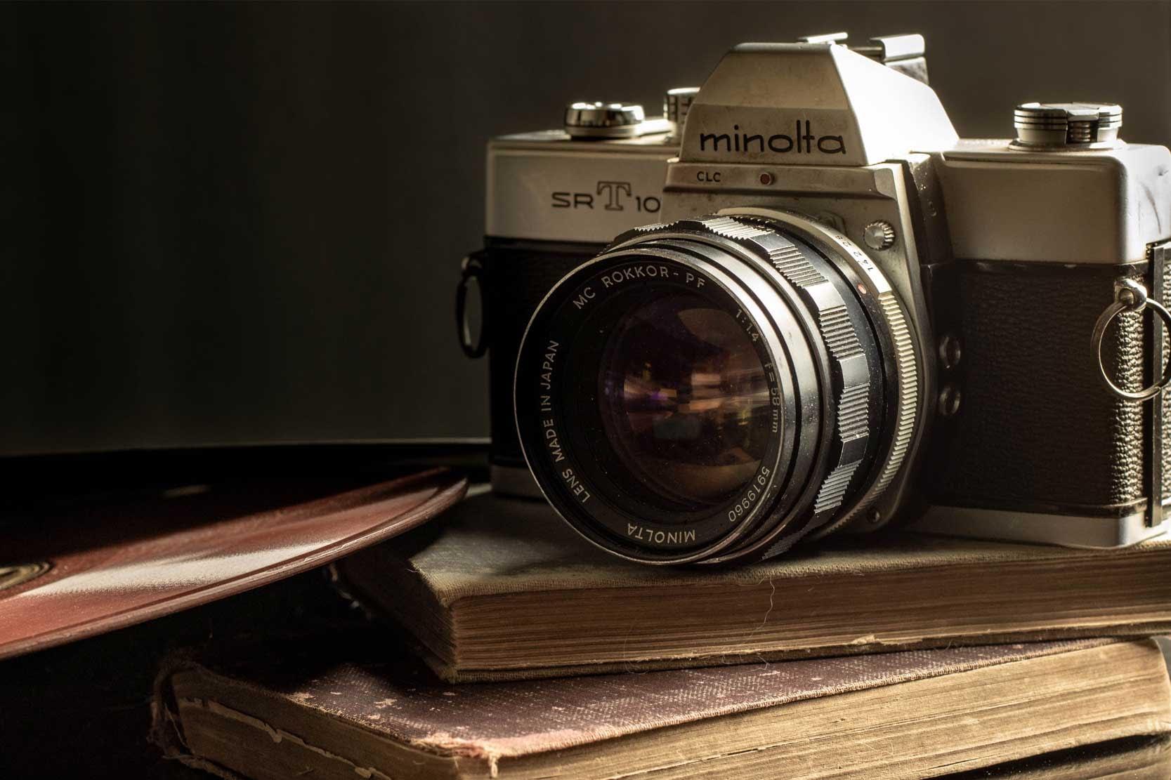 Minolta Vintage Film Camera