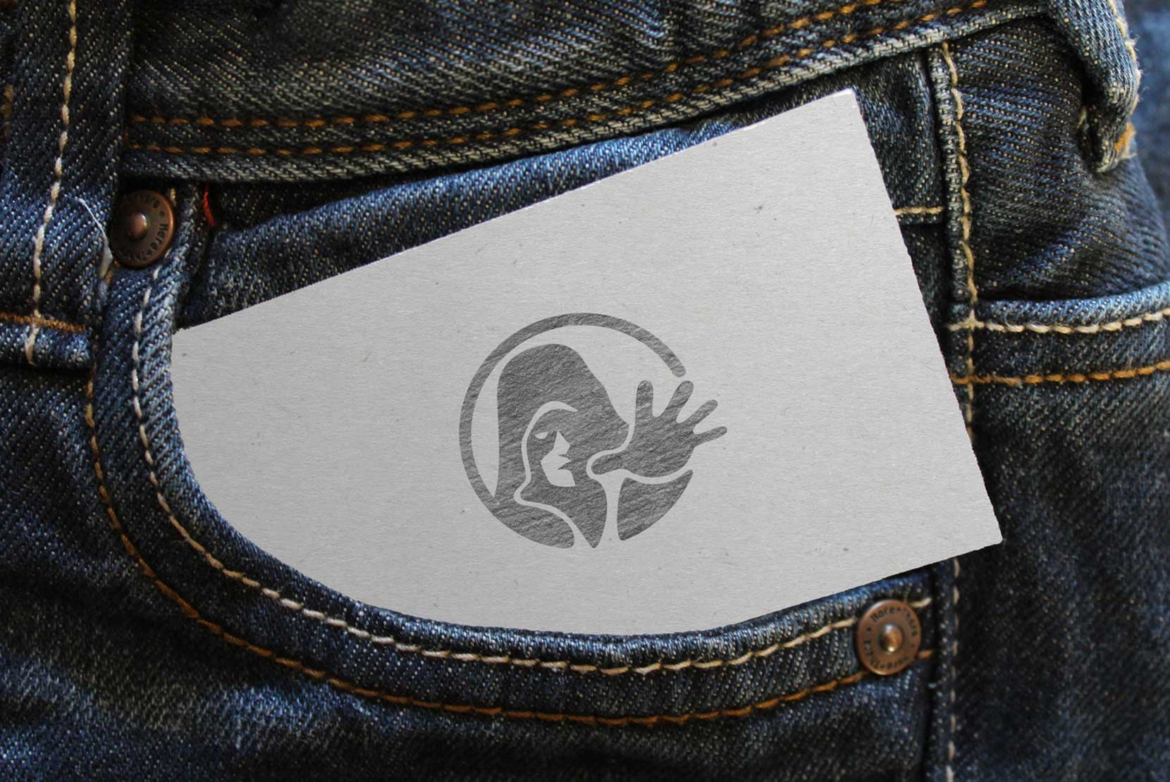 Lumosmax Logo Mockup inside jeans