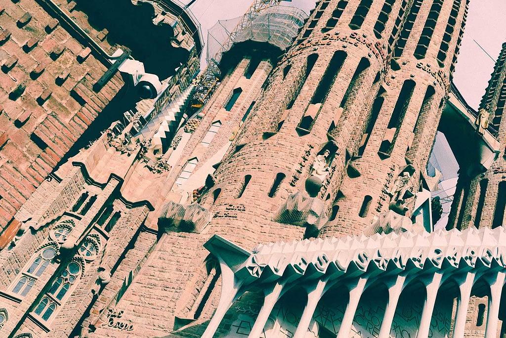 Sagrada Familia Close Up