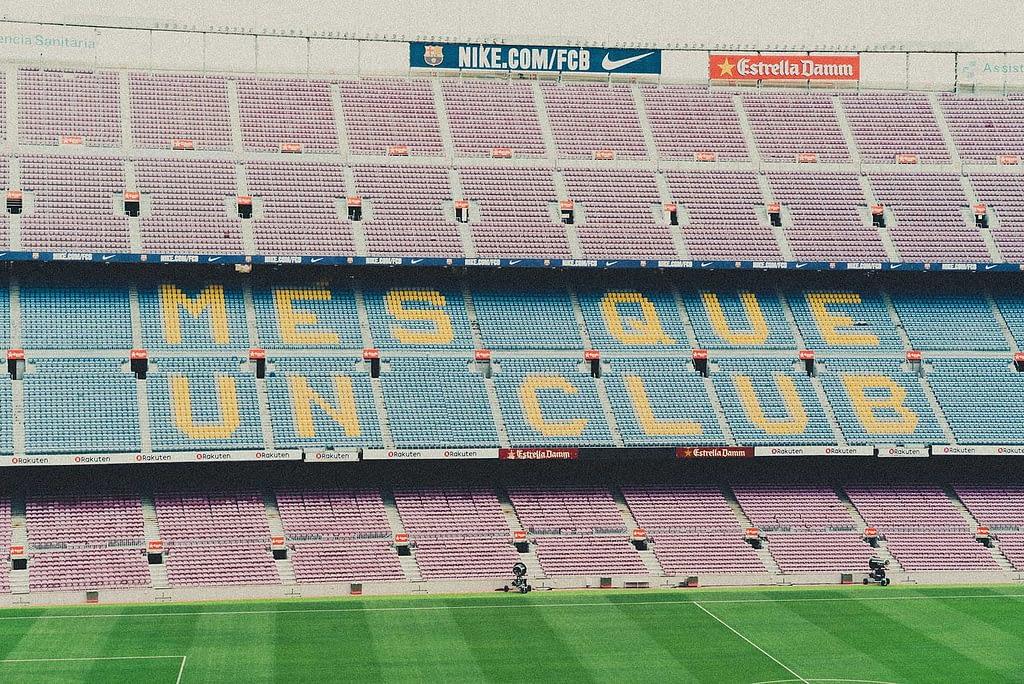 Mes Que Un Club Camp Nou Barcelona